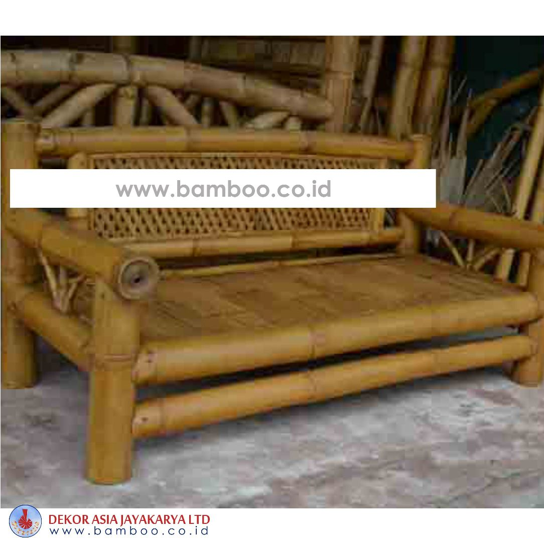 BENCH 3 SEATER, BAMBOO FURNITURE